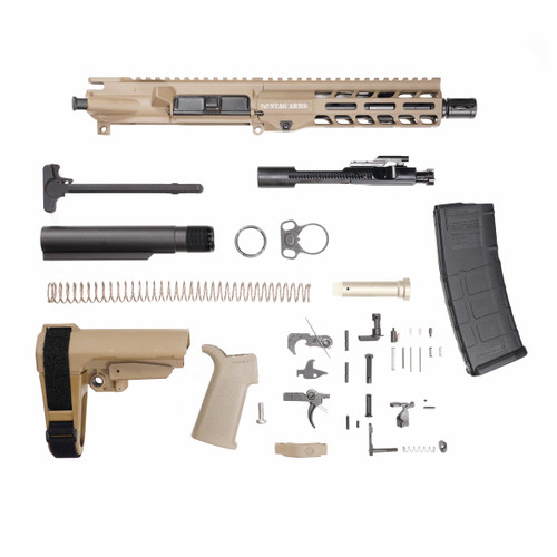 Stag 15 Tactical Pistol 7.5 in FDE Nitride Kit