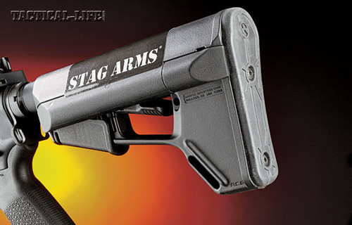 Stag Arms Buttstock Sticker