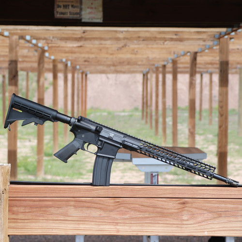 Stag 15 M4 Tactical (At the range)