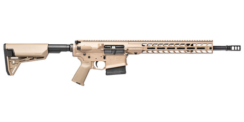 Stag 10 Tactical RH QPQ 16 in .308 Rifle FDE SL Cross