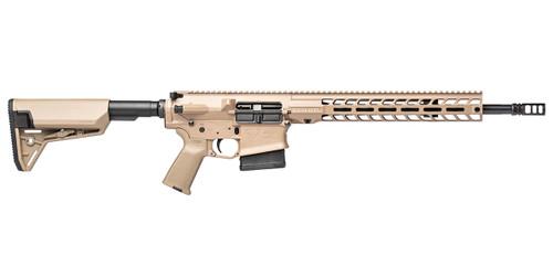 Stag 10 Tactical RH QPQ 16 in .308 Rifle FDE SL Cross