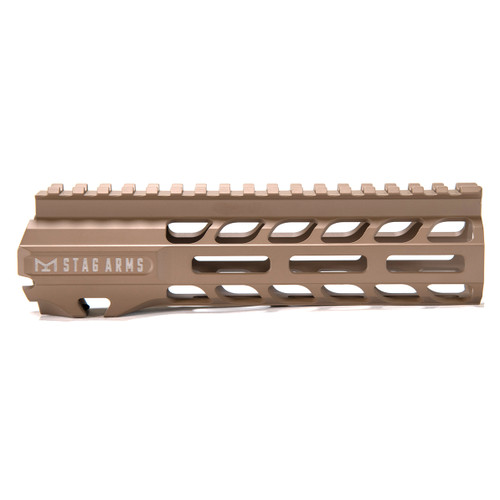 Stag 15 Slimline NQ NVH M-Lok Hand Guards FDE 7 in - BLEM