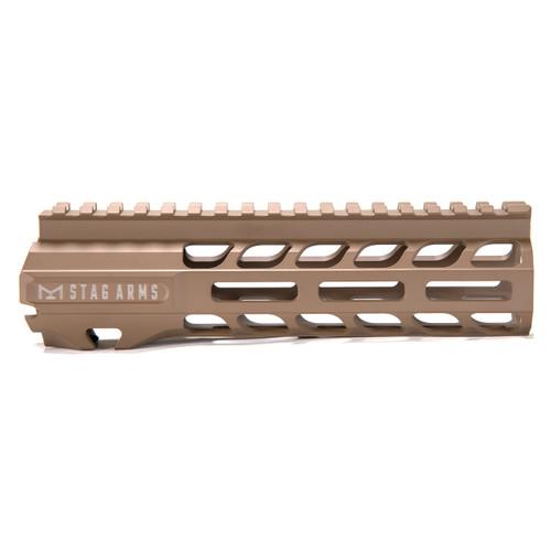 Stag 15 Slimline NQ NVH M-Lok Hand Guards FDE 7 in - BLEM