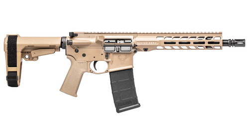Stag 15 Tactical RH QPQ 10.5 in 5.56 Pistol FDE SL NA