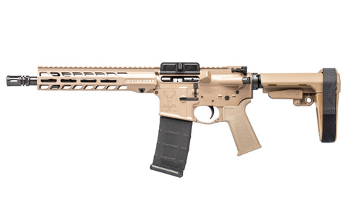 Stag 15 Tactical LH QPQ 10.5 in 5.56 Pistol FDE SL NA