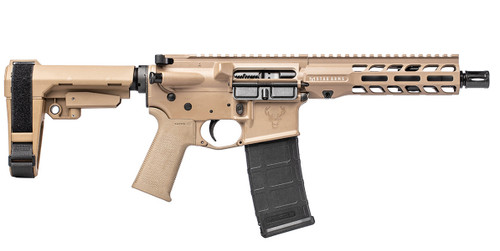 Stag 15 Tactical RH CHPHS 7.5 in 5.56 Pistol FDE SL NA