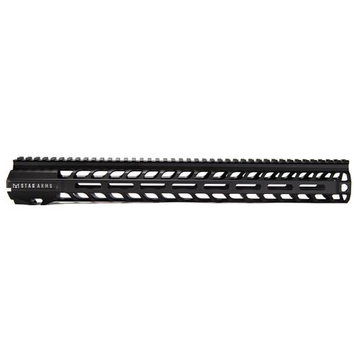 Stag 10 Slimline NV M-Lok Hand Guards BLA 16.5 in