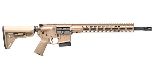 Stags AR-15 called Stag 15 Tactical is right handed CHPHS 16 in 5.56 Rifle FDE (Flat Dark Earth)