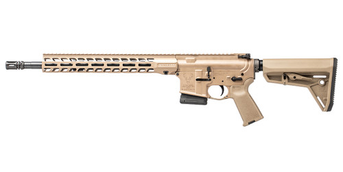 Stag's AR-15 called Stag 15 Tactical right hand QPQ 16 in 5.56 Rifle in FDE - Flat Dark Earth