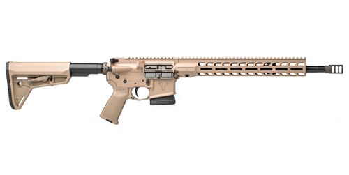 Stag's AR-15 the Stag 15 Tactical RH QPQ 16 in 5.56 Rifle FDE - Flat Dark Earth | New Jersey Compliant