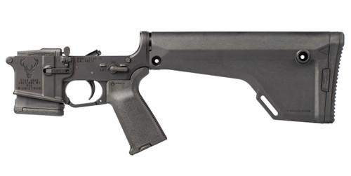 Stag 15 Varminter RH (Right Hand) Complete Lower BLA (Black Anodized) - CA/NY Compliant