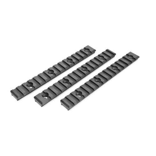 Three Pack of Diamondhead Aluminum Full Length Rail Sections