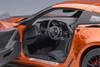 1/18 AUTOart Chevrolet Chevy Corvette C7 Z06 (Daytona Sunrise Orange) Car Model
