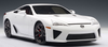 1/18 AUTOart LEXUS LFA - WHITEST WHITE Diecast Car Model 78831