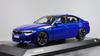 1/18 Dealer Edition BMW F90 M5 (Blue) Diecast Car Model