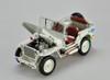1/18 Welly FX Classic Jeep M151 WW2 Quarter 1/4 Ton Army Truck (White) Diecast Car Model