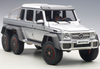 1/18 AUTOart MERCEDES-BENZ MB G63 AMG 6X6 (SILVER) Diecast Car Model 76301
