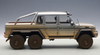 1/18 AUTOart MERCEDES-BENZ MB G63 AMG 6X6 (SILVER)(MUDDY VERSION) Diecast Car Model 76305