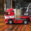 1/50 MOTORART Volvo FH16 w/ Lowboy Trailer & Volvo EC220D Excavator Diecast Model 300037