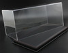 1/18 Acrylic Black Leather Base Diecast Model Display Case