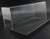 1/18 Acrylic Black Leather Base Diecast Model Display Case