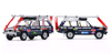 1/43 Almost Real AR Land Rover Range Rover The British Trans-Americas Expedition Diecast Car Model Set