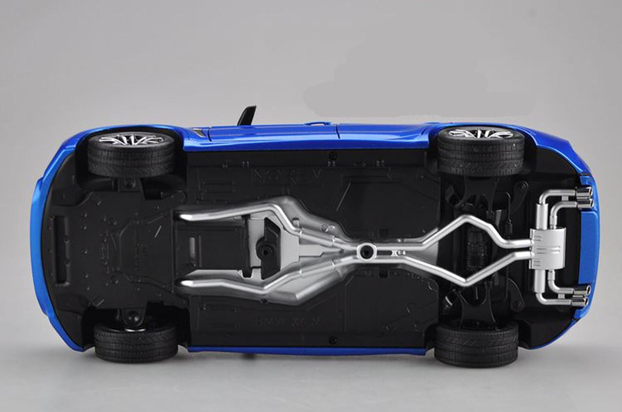 1/18 Dealer Edition BMW X6M X6 M (Blue)