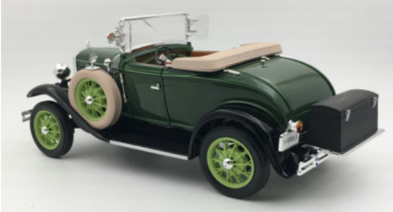 1 18 Ford Classic Collectibles 1931 Ford Model A Roadster Brewster Green Diecast Car Model Livecarmodel Com