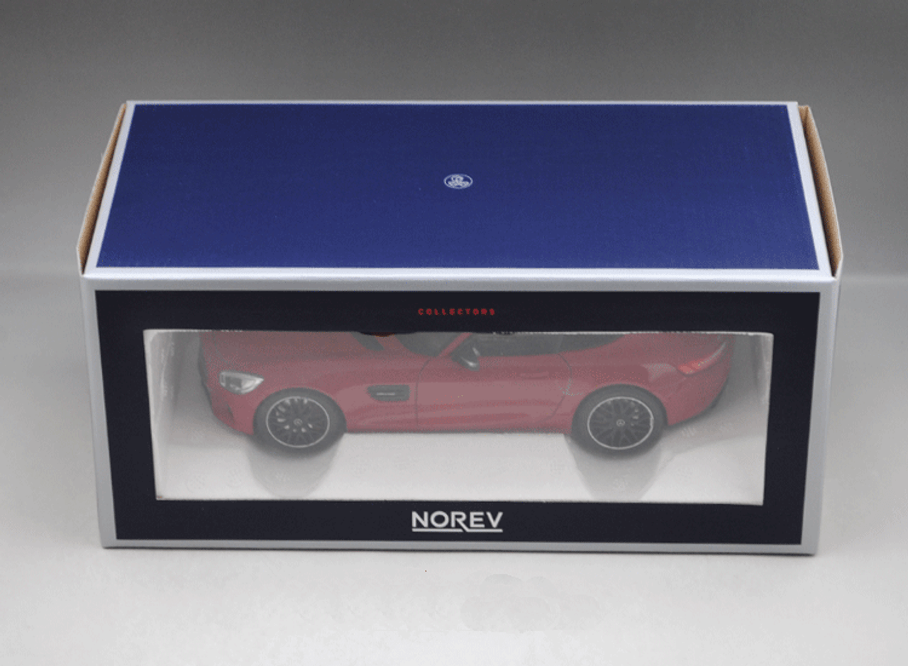 1/18 Norev Mercedes-Benz Mercedes AMG GT S GTS (Red) Diecast Car Model