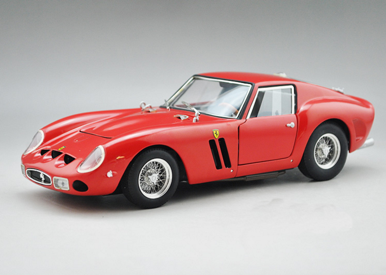 1 18 Hot Wheels Hotwheels Elite Ferrari 250 Gto 250gto Red Diecast Car Model Livecarmodel Com