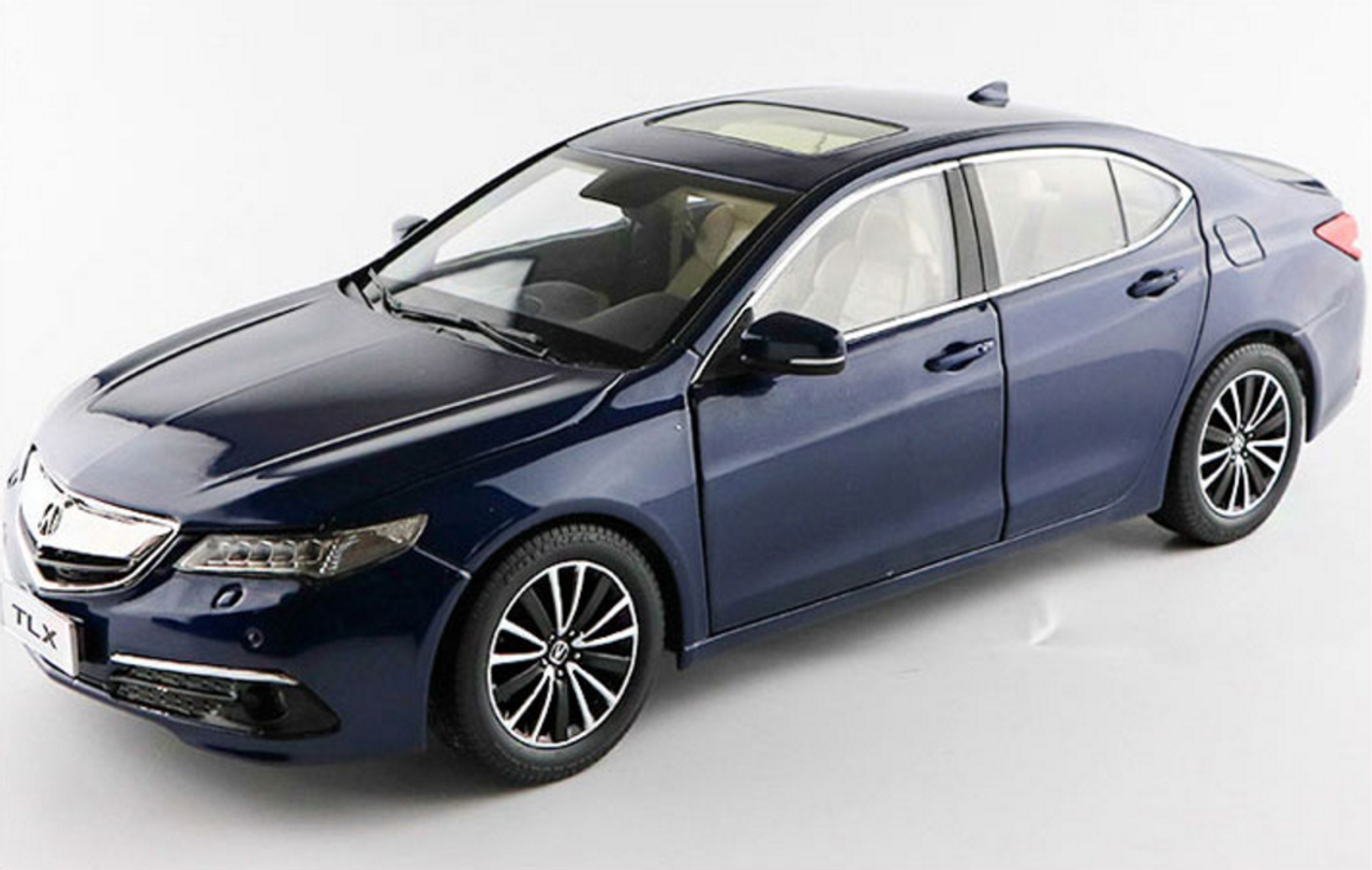 1/18 Dealer Edition Acura TLX (Blue) Diecast Car Model