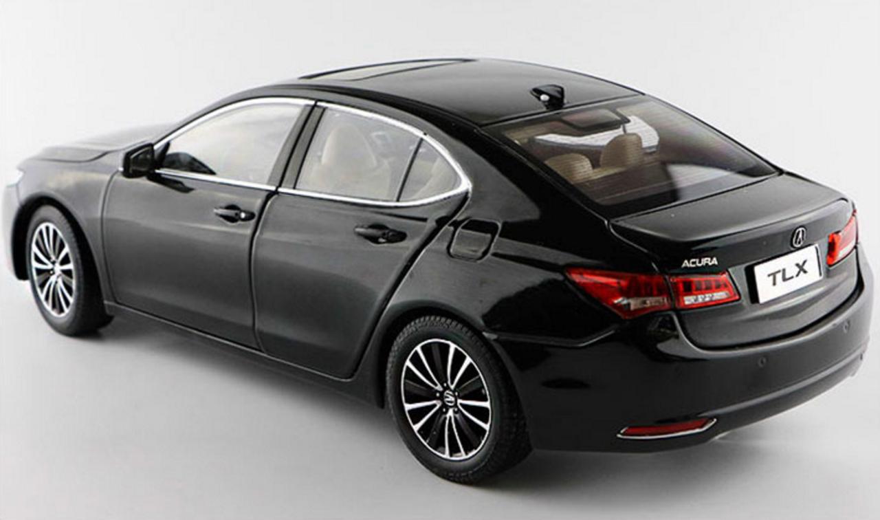 1/18 Dealer Edition Acura TLX (Black) Diecast Car Model