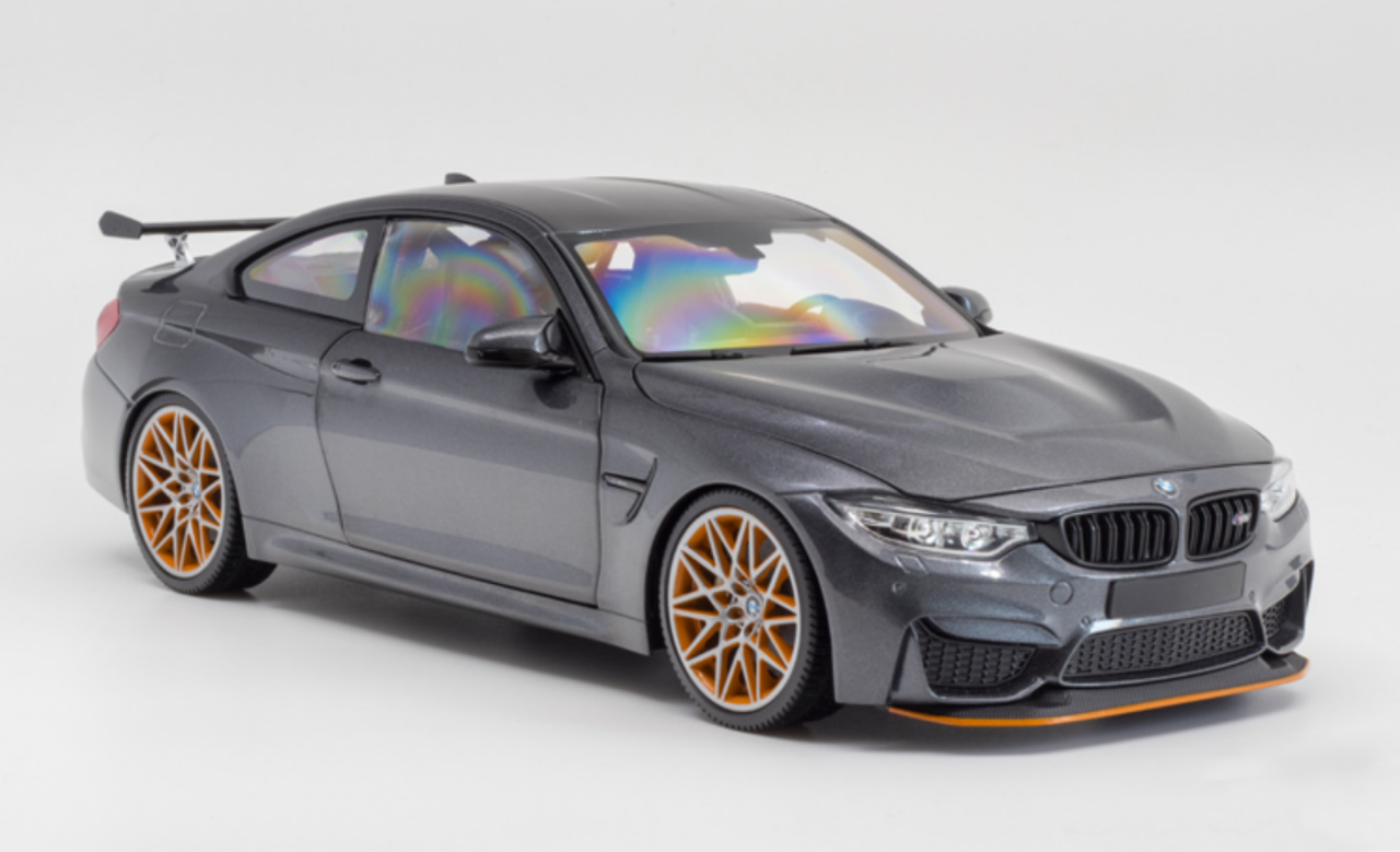 Matte Grey Car >> 1 18 Minichamps Bmw M4 Gts Matte Grey Diecast Car Model