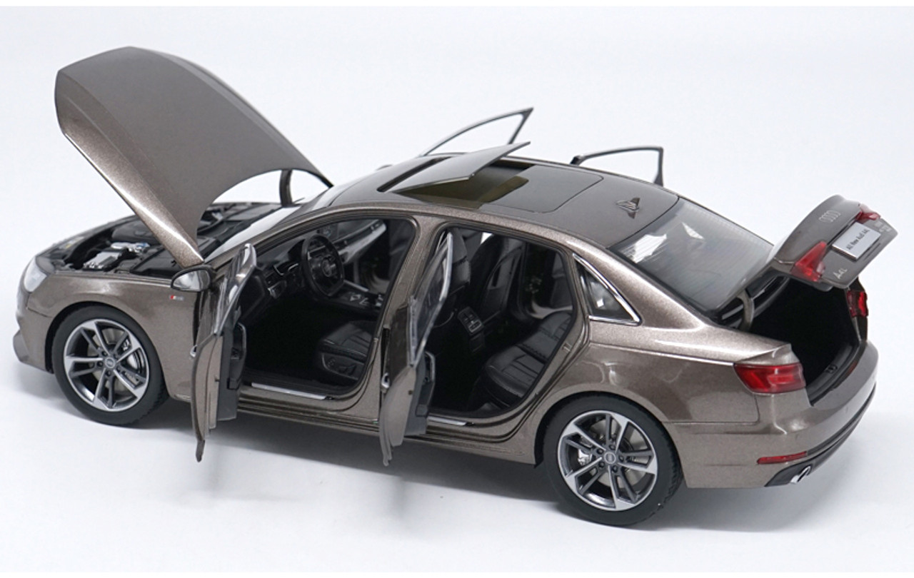 1/18 Dealer Edition 2017 Audi A4 A4L (Brown)