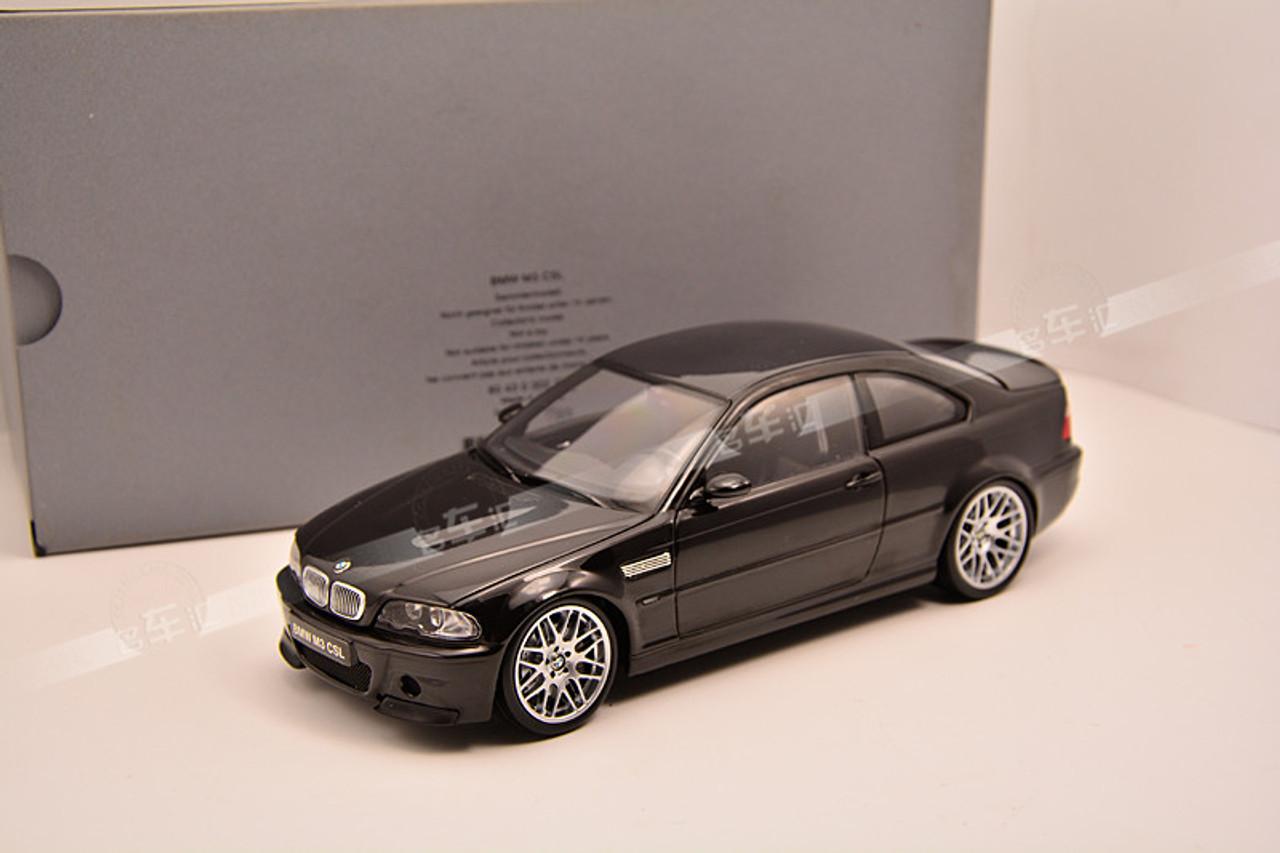 Rare 1 18 Kyosho Bmw E46 M3 Csl Black Diecast Car Model