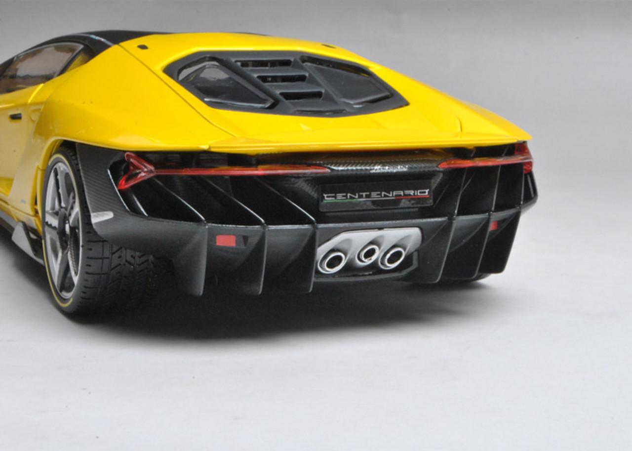 1/18 Maisto Lamborghini Centenario LP770-4 (Yellow) Diecast Car Model