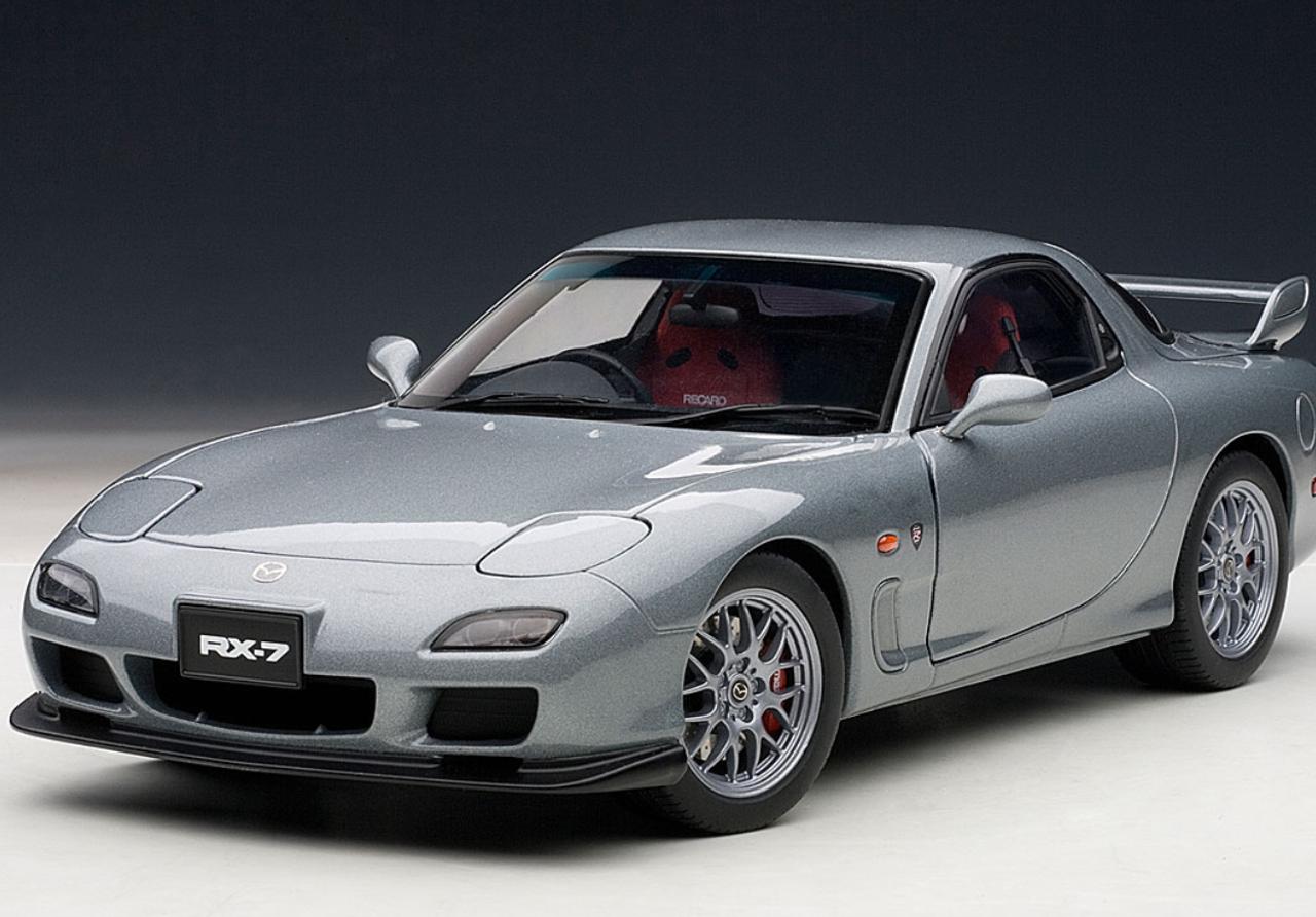Mazda Rx7 Fd >> 1 18 Autoart Mazda Rx7 Rx 7 Fd Spirit R Type A Titanium Grey Metallic