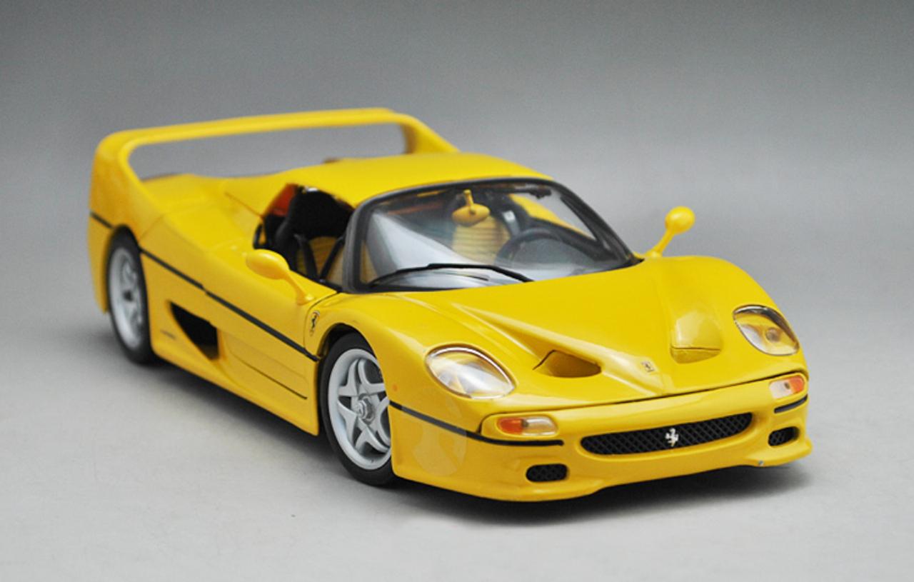 1 18 Bburago Ferrari F50 Yellow Diecast Car Model Livecarmodel Com