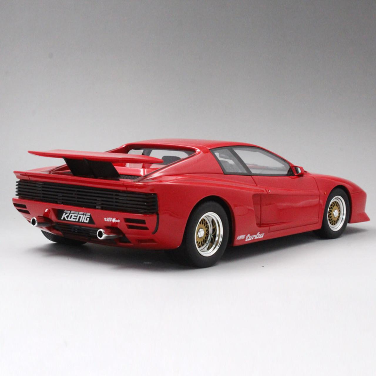Ferrari Testarossa: 1/18 GT Spirit GTSpirit 1991 Ferrari Testarossa Koenig