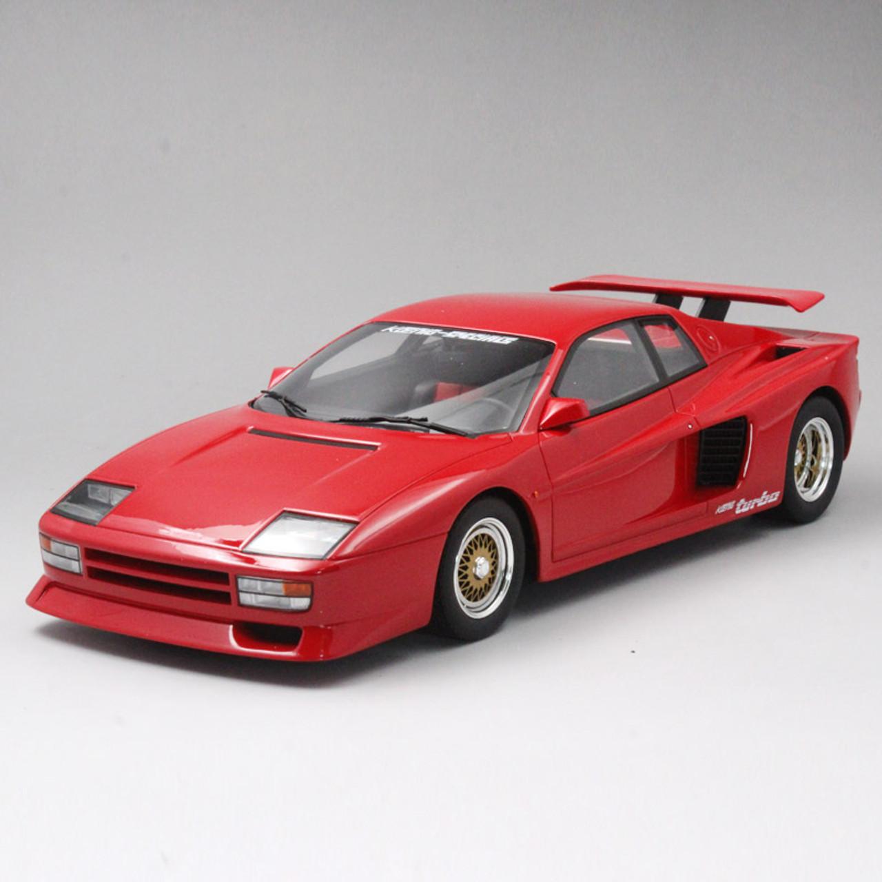 1 18 Gt Spirit Gtspirit 1991 Ferrari Testarossa Koenig Turbo F48 Red Resin Model Livecarmodel Com