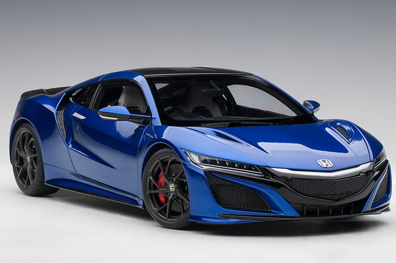 1 18 Autoart Honda Acura Nsx Blue Diecast Model Livecarmodel Com