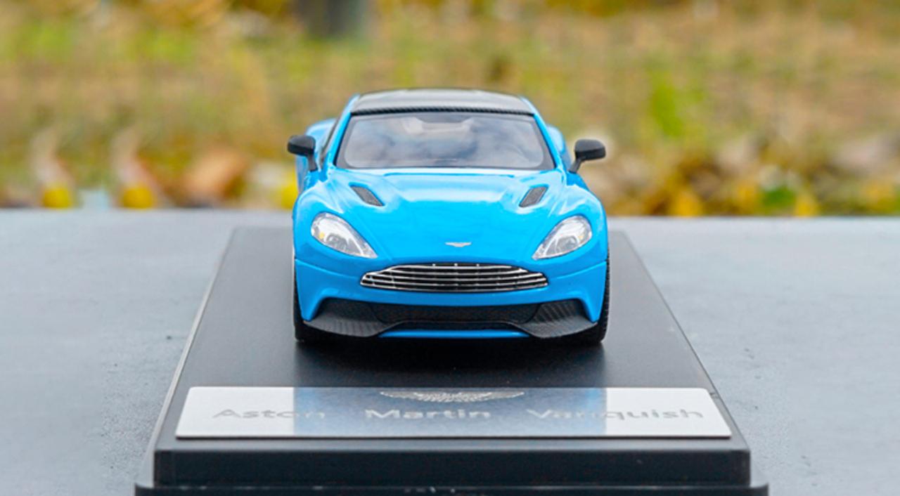 1 43 Dealer Edition Aston Martin Vanquish Blue Diecast Model Livecarmodel Com