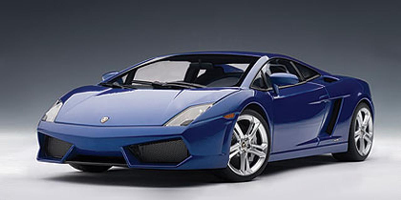 1 18 Autoart Lamborghini Gallardo Lp560 4 Blue Montere Lue