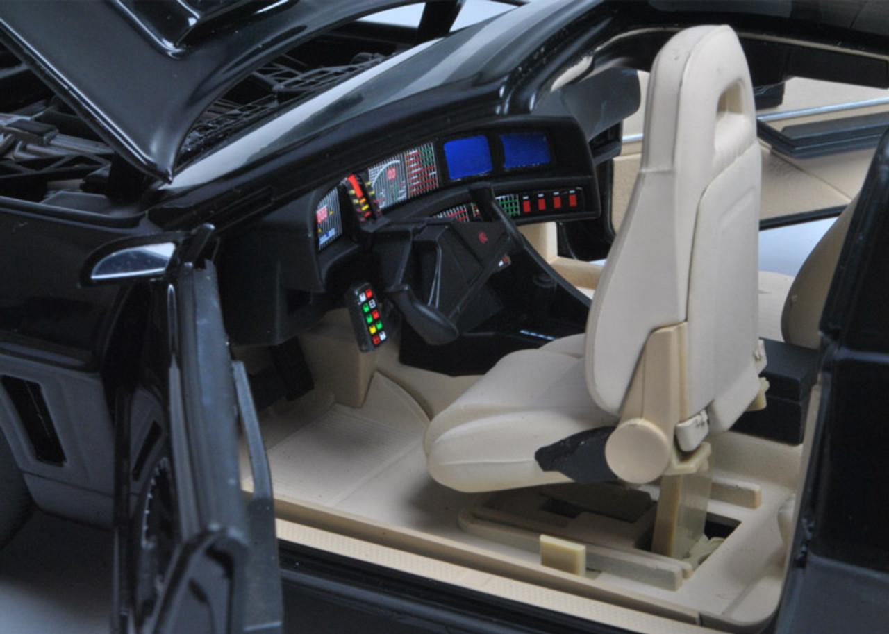 1/18 Hot Wheels Hotwheels Super Elite Knight Rider KITT w/ Lights & Voice Diecast Car Model
