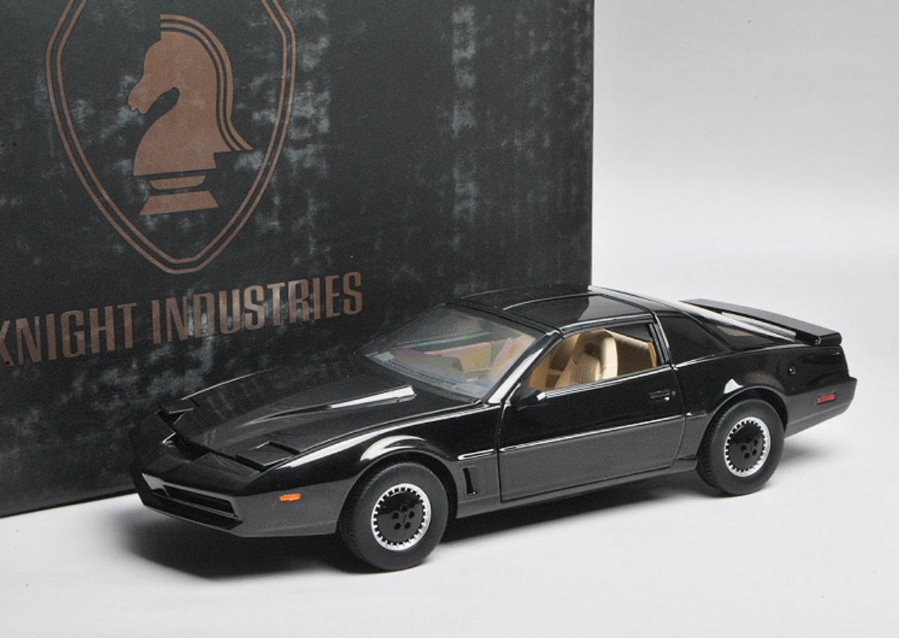 1/18 Hot Wheels Hotwheels Elite Knight Rider KITT w/ Lights & Voice Diecast  Car Model
