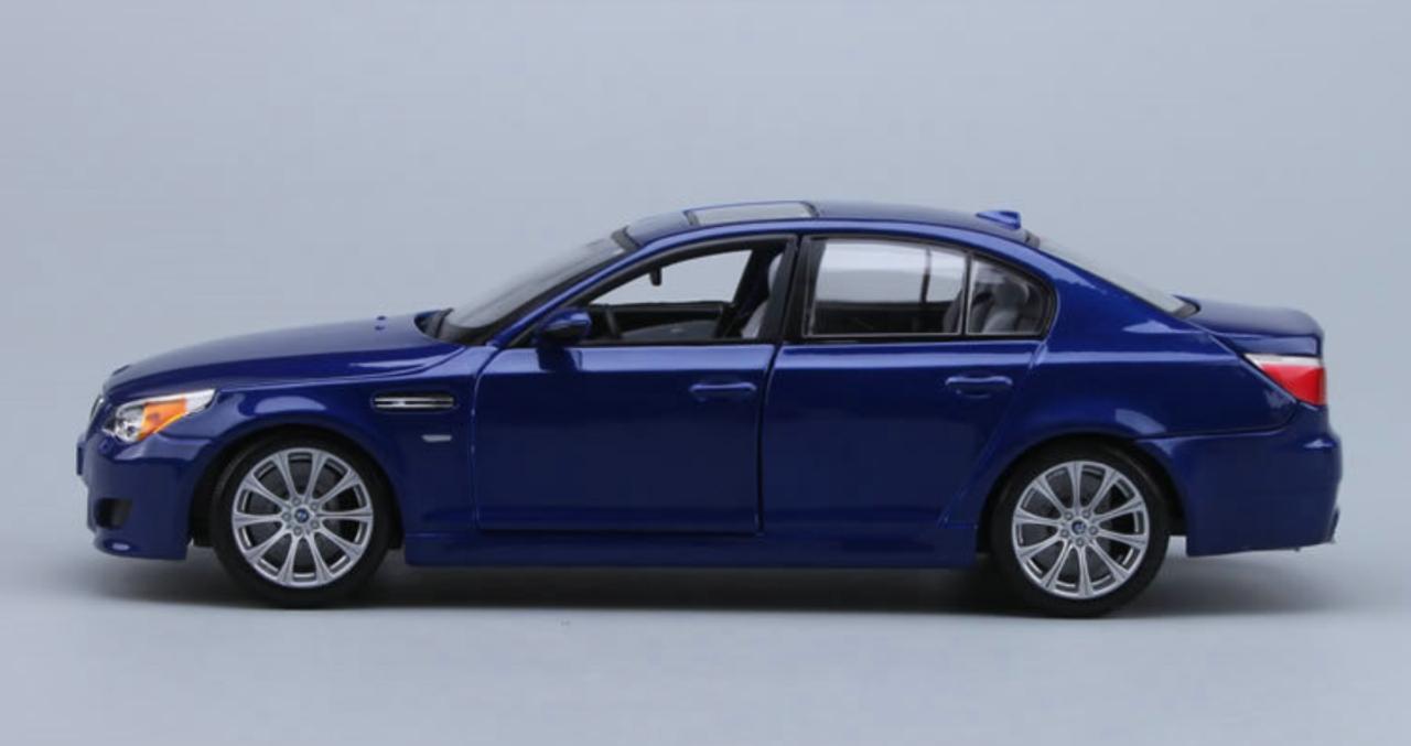 Bmw 5er M5 E60 Limousine Azul 2003 2010 1 18 Maisto Modelo Coche Con O Sin En Automodelismo Y Aeromodelismo Coches Camiones Y Furgonetas