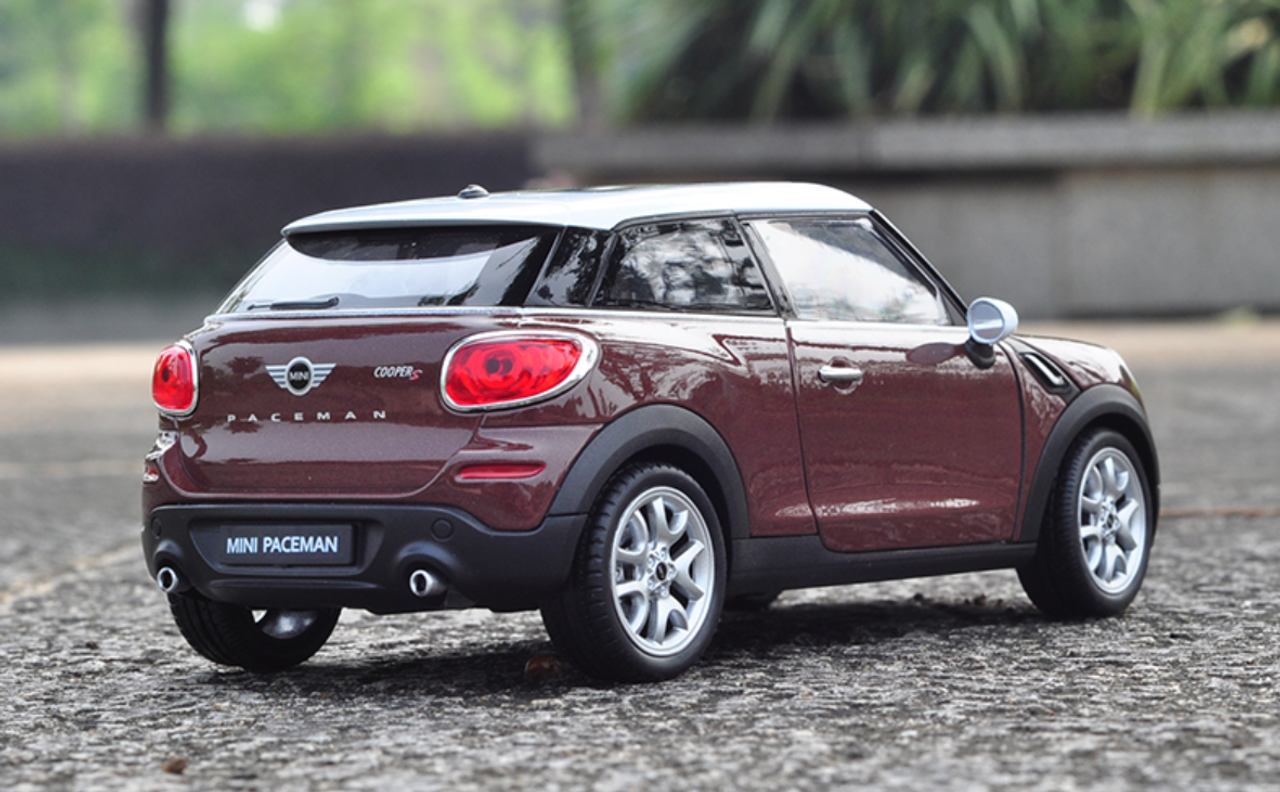 Mini Cooper Models >> 1 24 Welly Fx Mini Cooper Paceman Brown Diecast Car Model