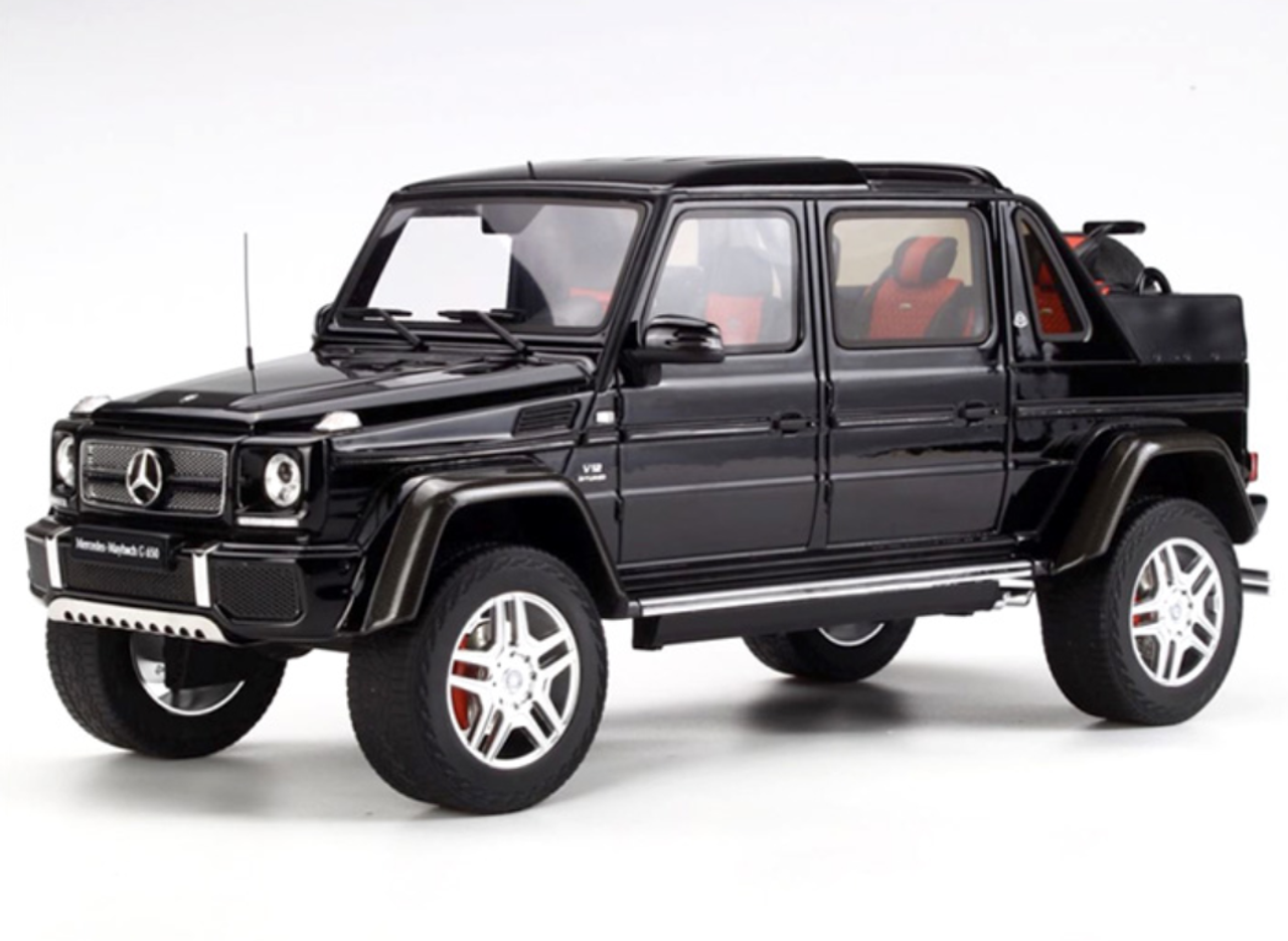 1/18 GT Spirit GTSpirit Mercedes-Benz MB G-Class Maybach G650 (Black) Limited 504 Resin Car Model