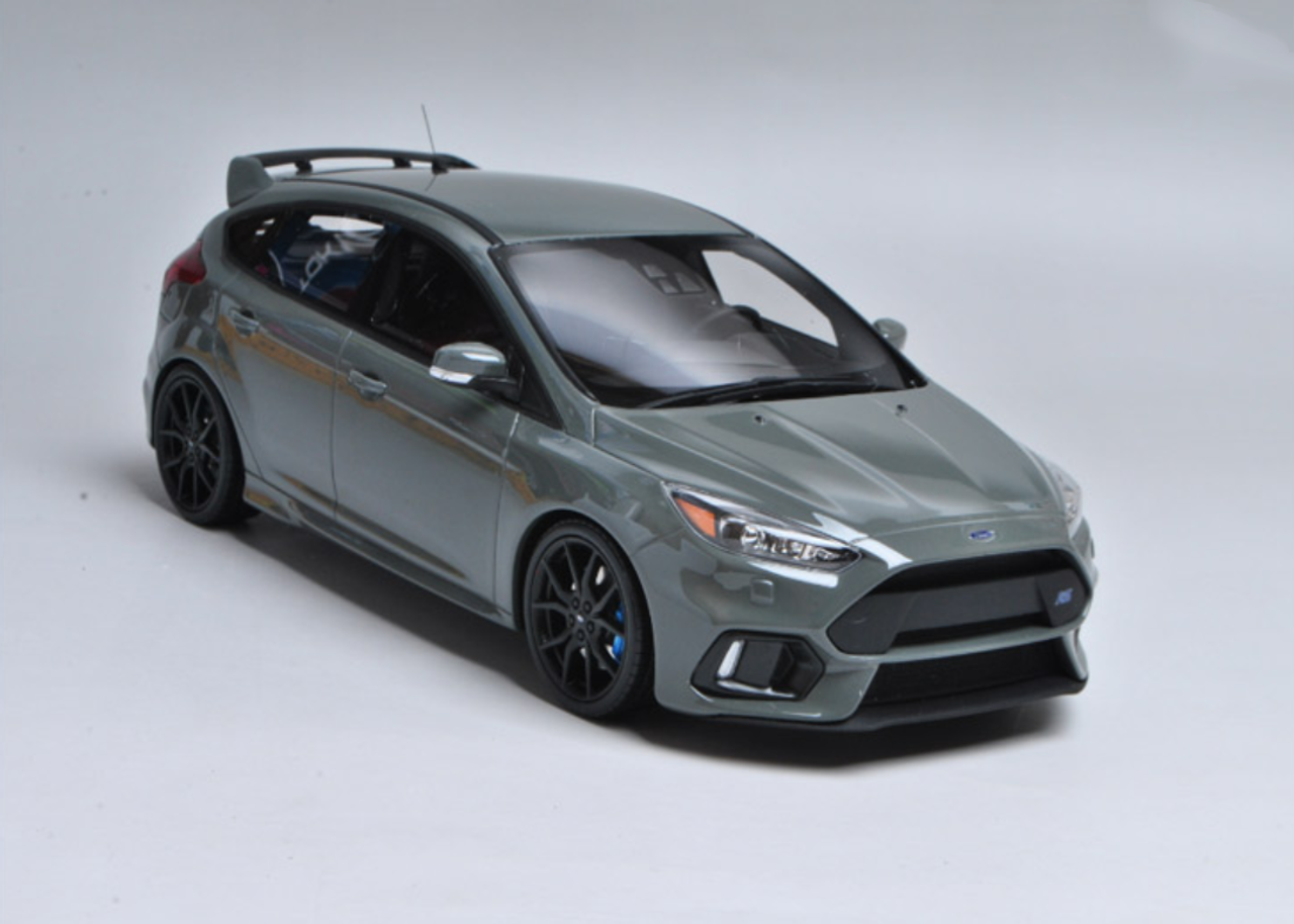 1 18 Otto Ford Focus Rs Grey Enclosed Resin Car Model Limited 999