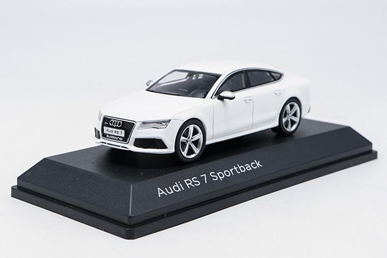 1 43 Dealer Edition Audi Rs7 Sportback White Diecast Car Model Livecarmodel Com
